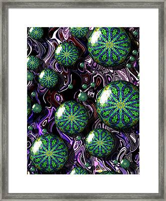 Fractal Abstract 7816.5 Framed Print