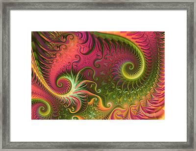 Fractal Ameba Framed Print