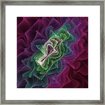 Fractal Design Framed Print