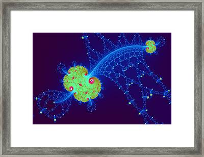 Fractal Engineering No. 13 Framed Print by Mark Eggleston