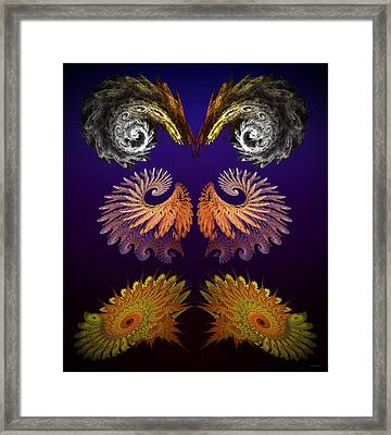 Fractal Festivus Framed Print by Brian Wallace