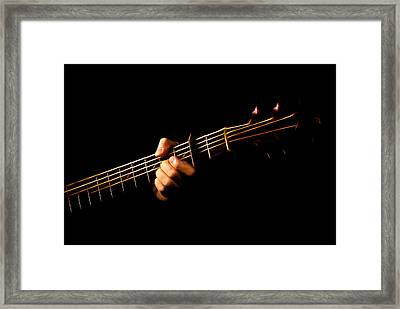 Framed Print featuring the photograph Fractal Frets by Cameron Wood