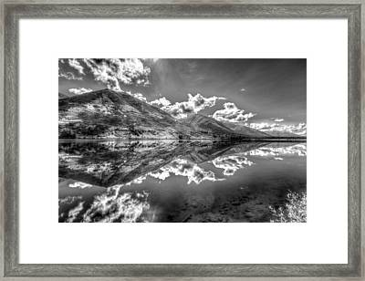 Fractal Reflections Framed Print