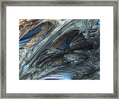 Fractal Structure 001 Framed Print