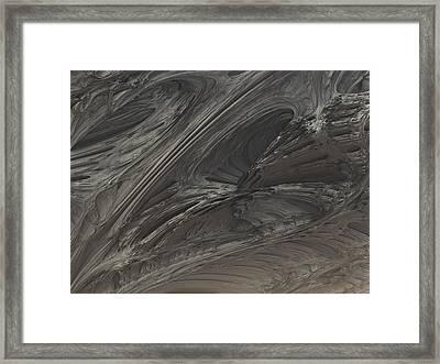 Fractal Structure 004 Framed Print