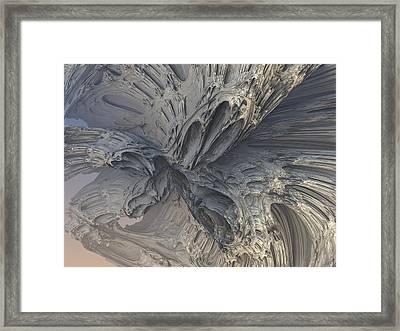 Fractal Structure 006 Framed Print