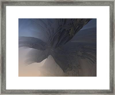 Fractal Structure 007 Framed Print