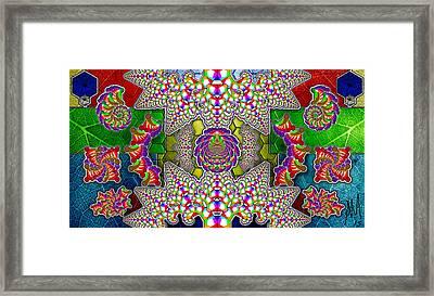 Fractaleaf Framed Print by Andrew Murray