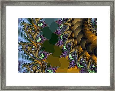 Fractals83002 Framed Print