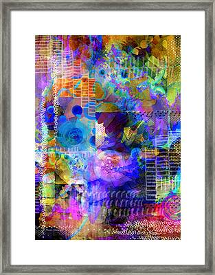 Fraction Framed Print by Moon Stumpp