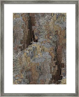 Fracture Frenzy Framed Print by Tim Allen