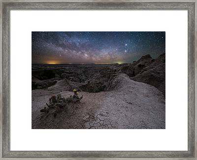 Fractured  Framed Print by Aaron J Groen
