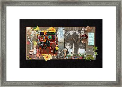 Fractured Fairy Tales Coming Home Framed Print