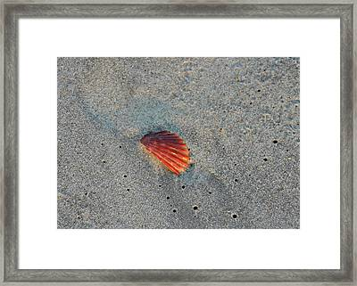 Fiery Fracture Framed Print by JAMART Photography