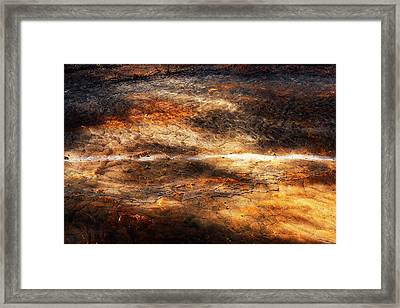 Framed Print featuring the photograph Fractured by Ryan Manuel