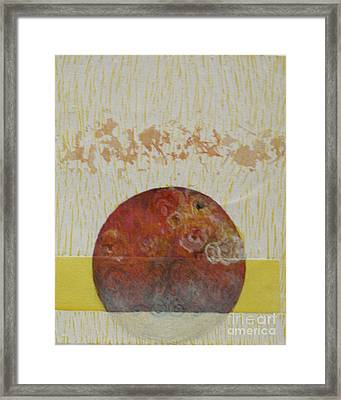 Fragile Conditioning- 4 Framed Print by Asma Hashmi