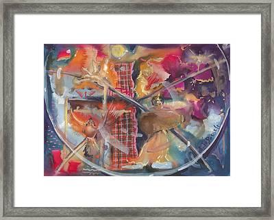 Fragile Detail  Framed Print