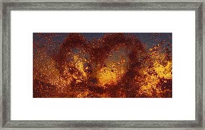 Framed Print featuring the photograph Fragile Love by Sami Tiainen