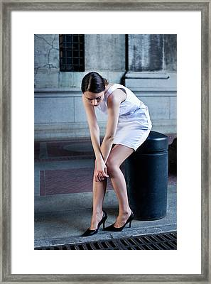 Fragile Framed Print