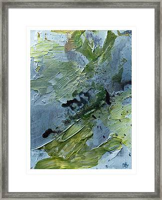 Fragility Of Life Framed Print