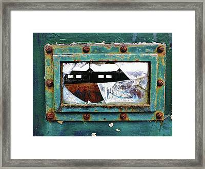 Fragment Of History Framed Print