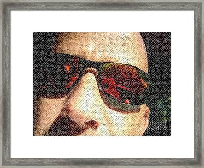 Fragmental Framed Print by Jack Norton
