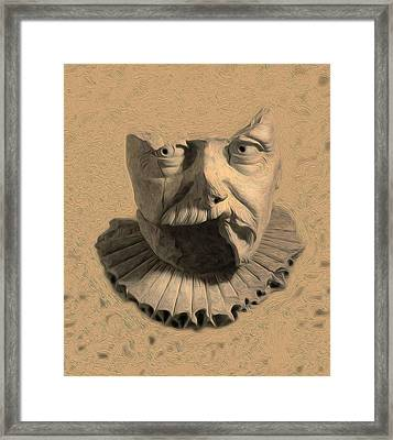 Fragments From Antiquity Framed Print by Charles Carlos Odom