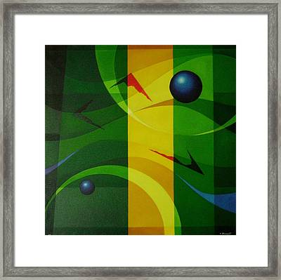 Fragments Of A Soul - 2 Framed Print by Alberto D-Assumpcao