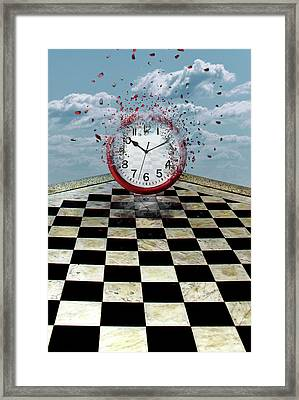 Fragments Of Time Framed Print