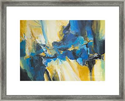 Fragments Of Time Framed Print by Glory Wood