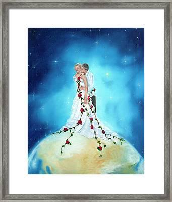 Fragrance Of His Love Framed Print