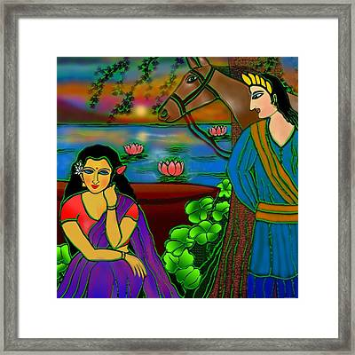 Fragrance Of Magnolias Framed Print