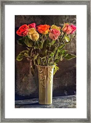 Fragrant Flowers Framed Print