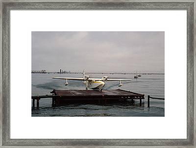 Frakes - Turbine Mallard Framed Print