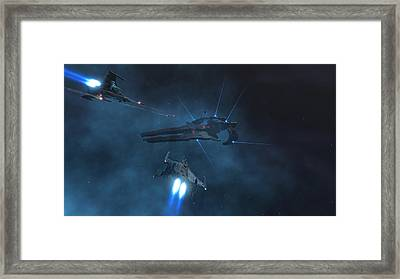 Fralthi Strike Framed Print by Hangar B Productions