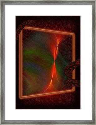 Frame Framed Print
