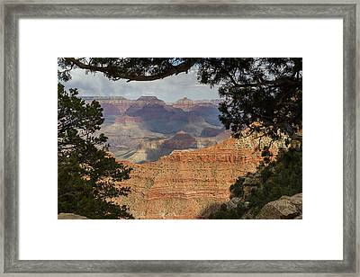 Framed Canyon Framed Print