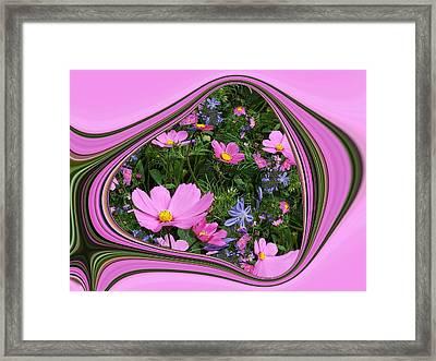 Framed Cosmos Framed Print