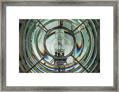 Framed Print featuring the photograph Framed Fresnel by Thomas Gaitley