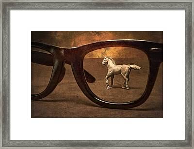 Framed In A Dream Framed Print by Jeff  Gettis