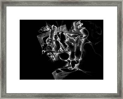 Framed Inverted Framed Print by Bodhi