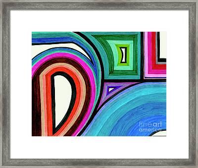 Framed Motion Framed Print by Lara Morrison