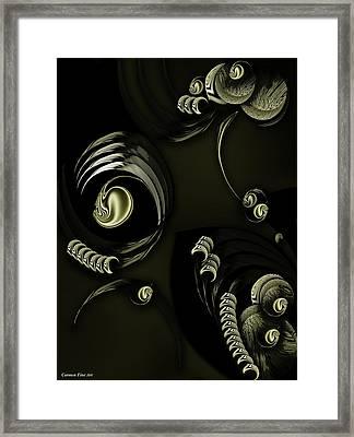 Framed Season Decomposed Framed Print
