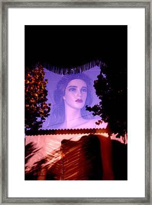 Framed To Marry Framed Print by Jez C Self