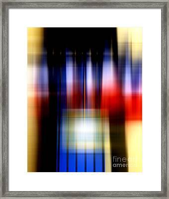Francais Framed Print by John Rizzuto