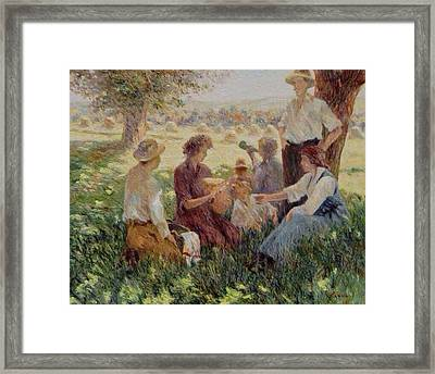 France Country Life  Framed Print