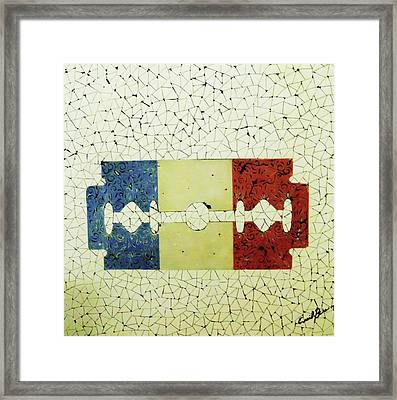 France Framed Print by Emil Bodourov