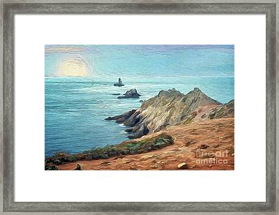 France - La Pointe Du Raz Framed Print