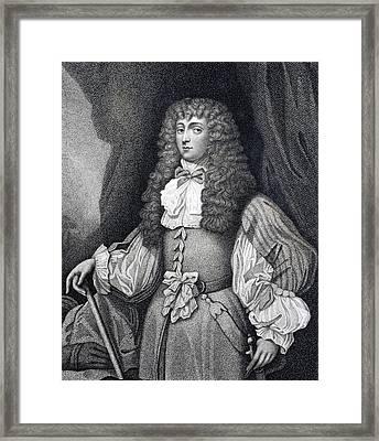 Frances Teresa Stewart, Duchess Of Framed Print by Vintage Design Pics
