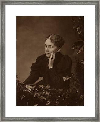 Frances Willard 1839-1898, American Framed Print